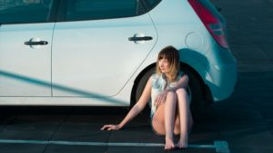 Image Girl Beside Car Extended Warranty Insurance