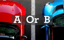 Image Choose A OR B Test Drive New Car Tips