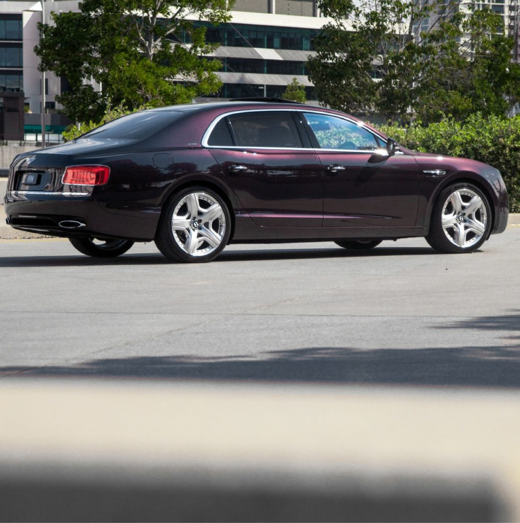 The Osbournes New Bentley Flying Spur: Bentley Flying Spur W12