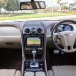 1250x1255 Bentley steering wheel and centre console