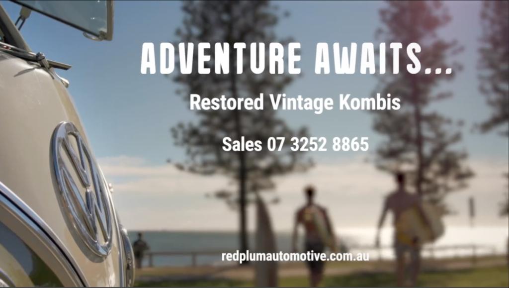 VW Kombi Split Window Adventure Video Sunshine Coast