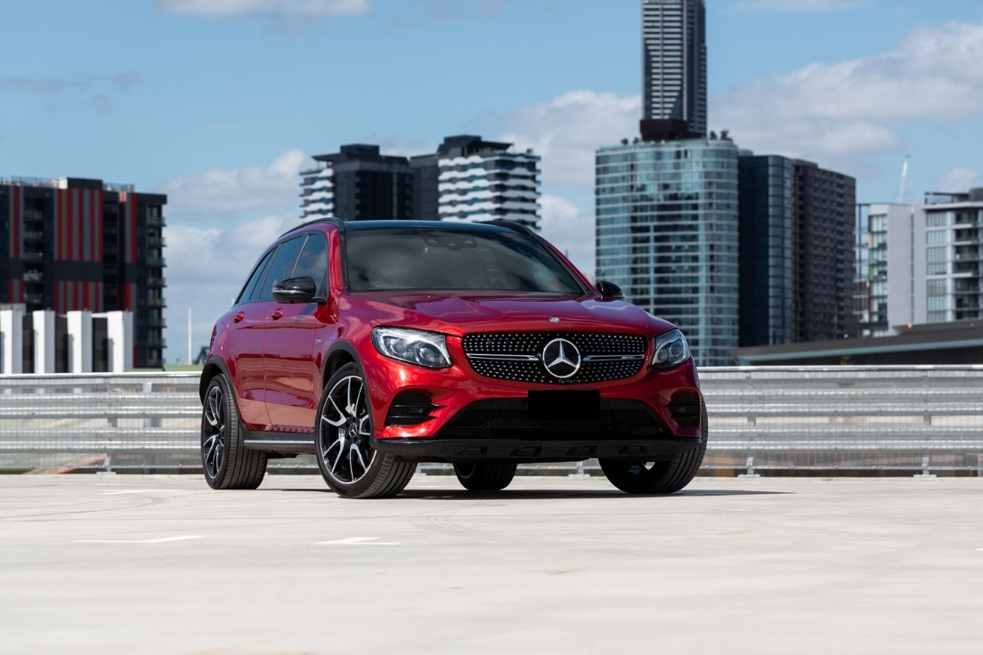 2017 Mercedes-Benz GLC43 AMG For Sale Red Plum Automotive