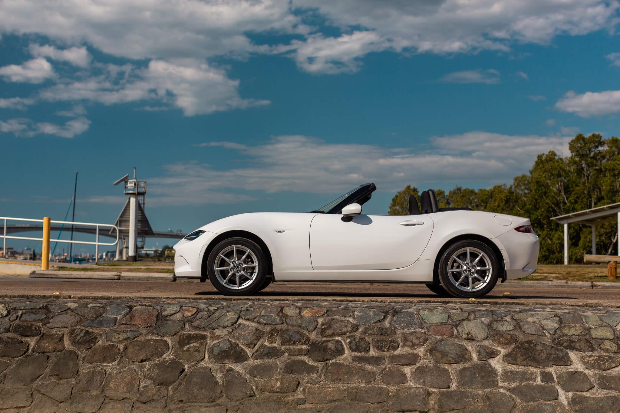 For Sale 2015 Mazda MX-5 White Convertible